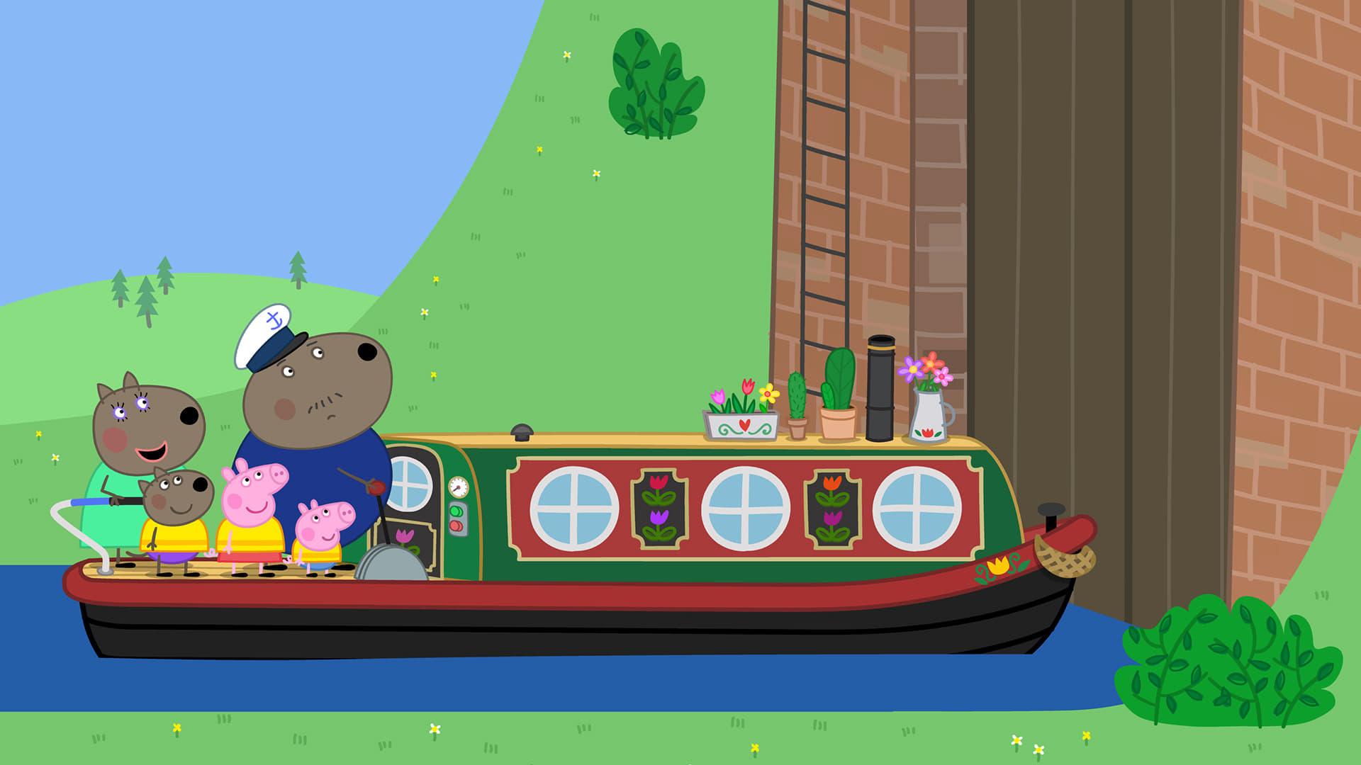 Peppa Pig Season 5 :Episode 18  Canal Boat