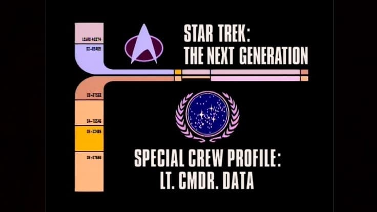 Archival Mission Log: Year Six - Departmental Briefing: Special Crew Profile: Lt. Cmdr. Data-Azwaad Movie Database