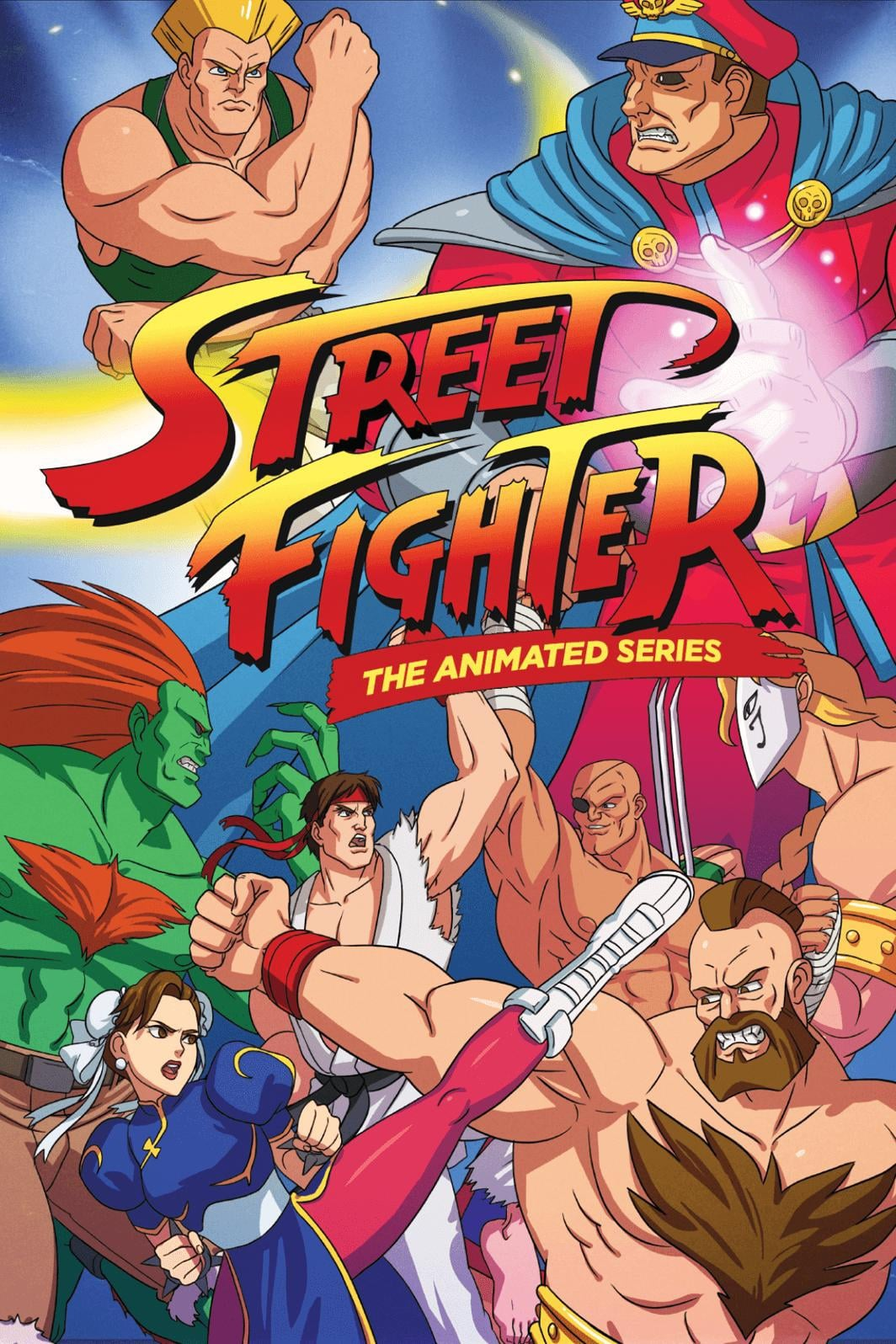Street Fighter: The Animated Series on FREECABLE TV