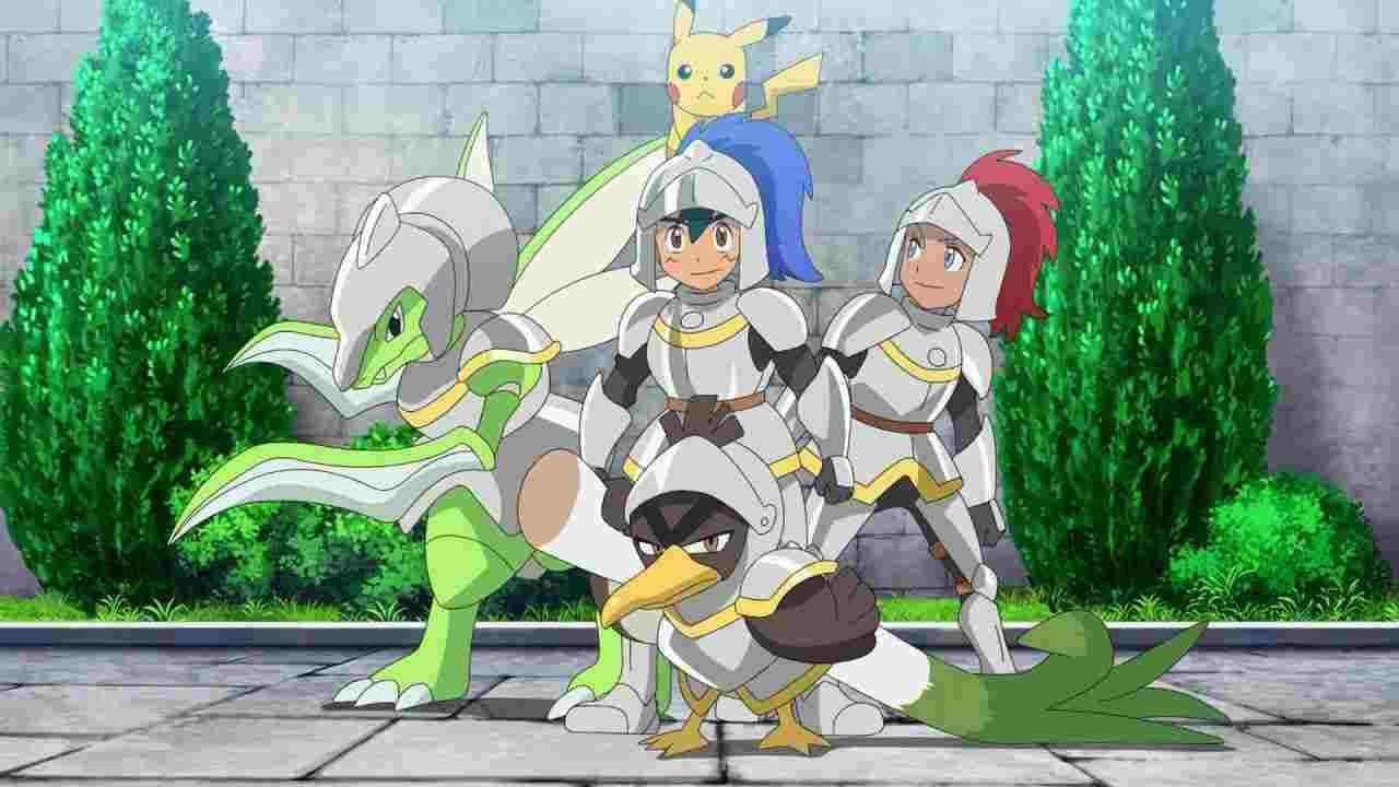 Pokémon Season 24 :Episode 8  Searching for Chivalry
