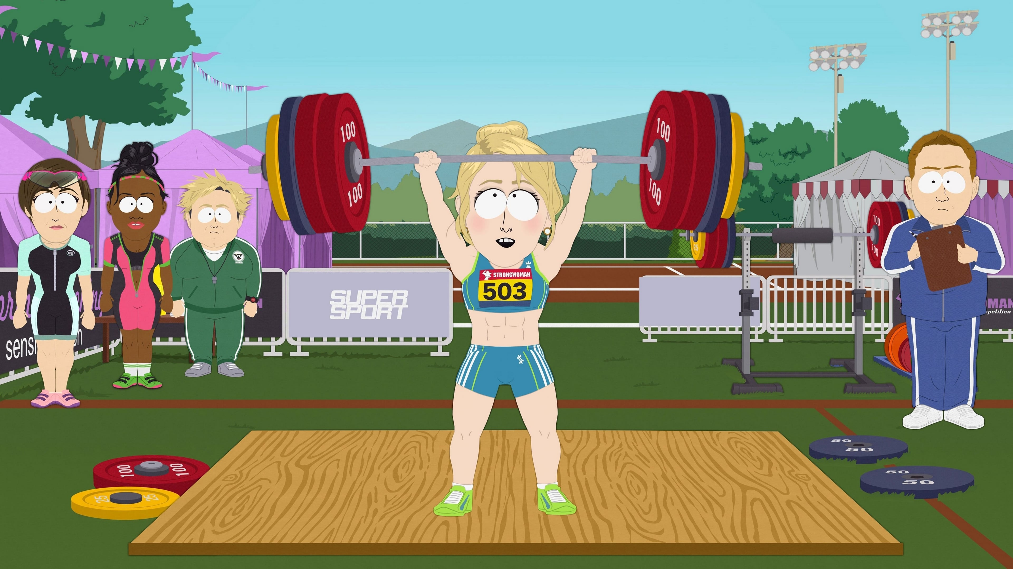 South Park Season 23 :Episode 7  Board Girls