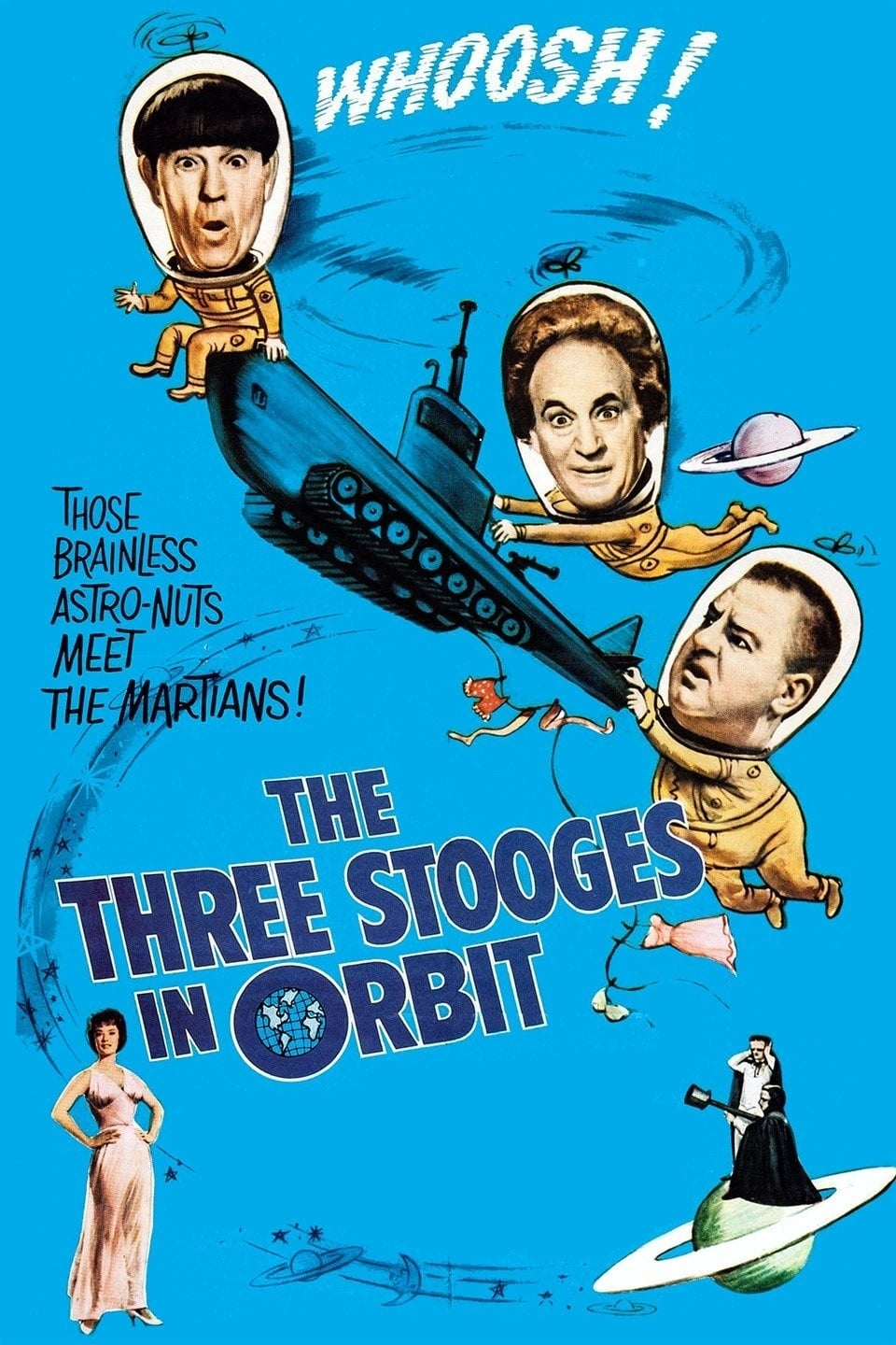The Three Stooges in Orbit on FREECABLE TV