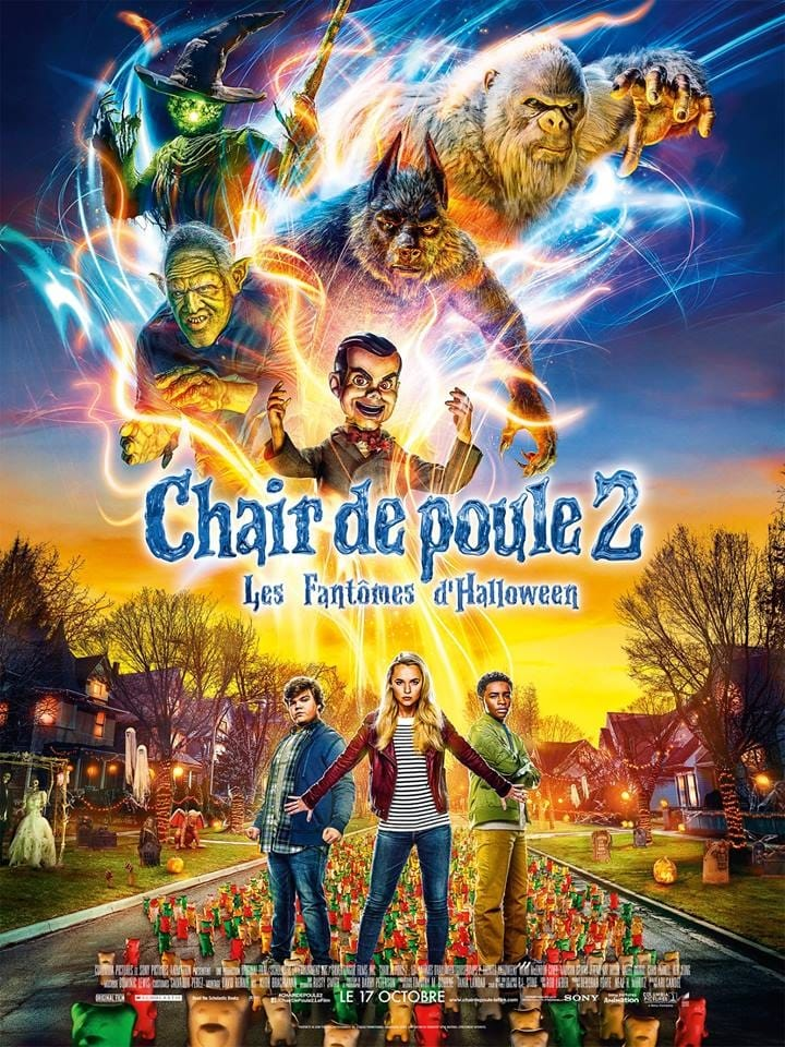 Chair de poule 2 : Les Fantômes d'Halloween streaming sur zone telechargement