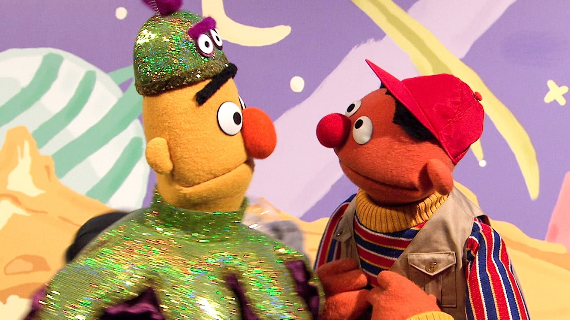 Sesame Street Season 47 :Episode 28  Bert and Ernie Make a Movie (repeat)
