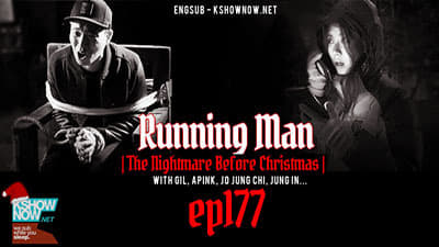 Running Man Season 1 :Episode 177  The Nightmare Before Christmas