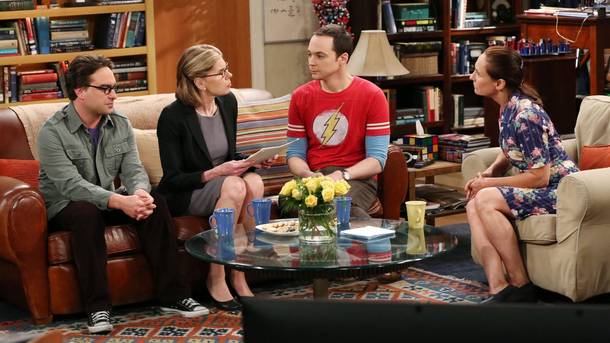 The Big Bang Theory Season 8 :Episode 23  The Maternal Combustion