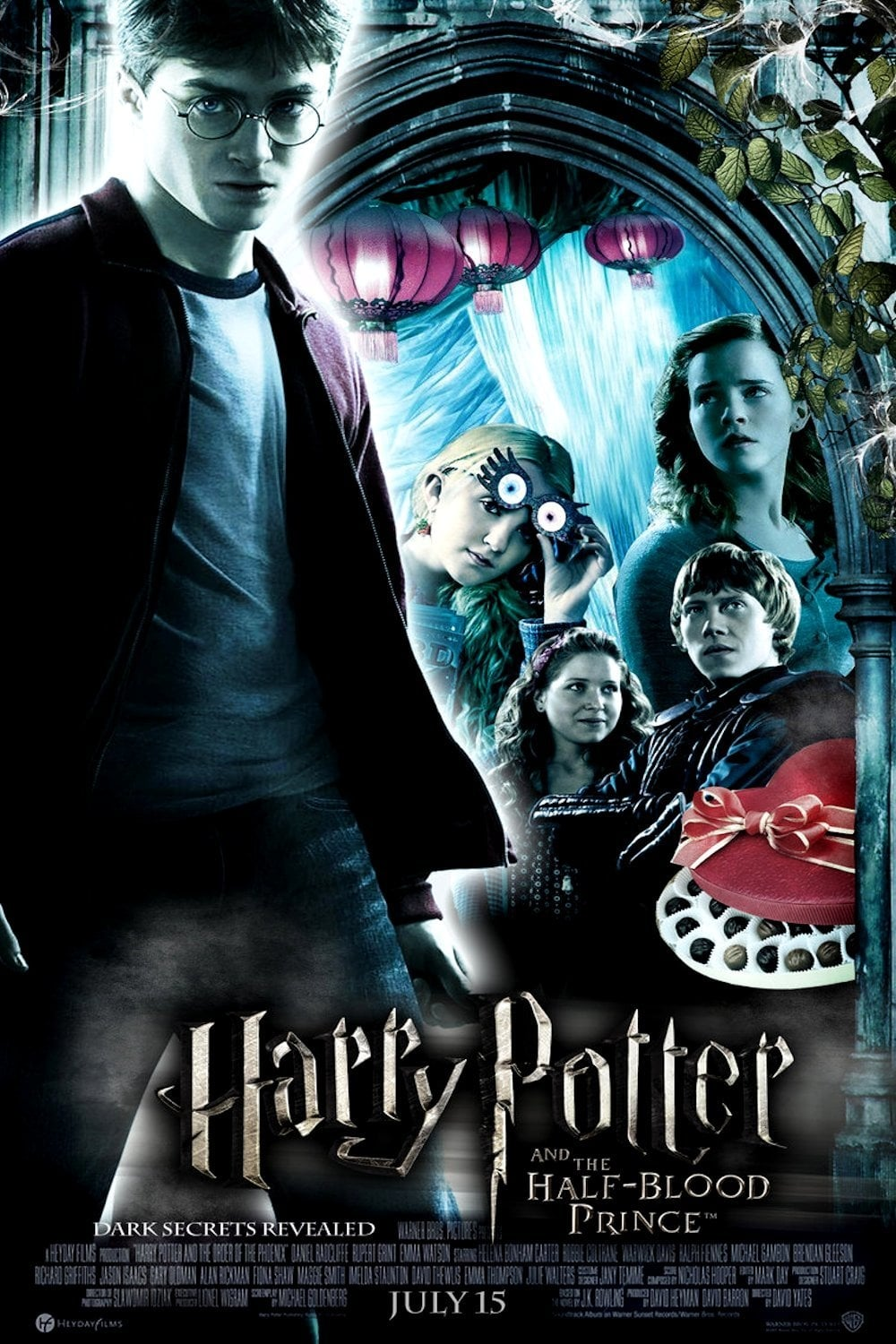 harry potter and the halfblood prince 2009 posters