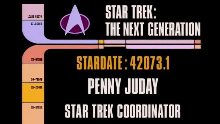 Archival Mission Log: Year Two - Inside Starfleet Archives: Penny Juday-Azwaad Movie Database
