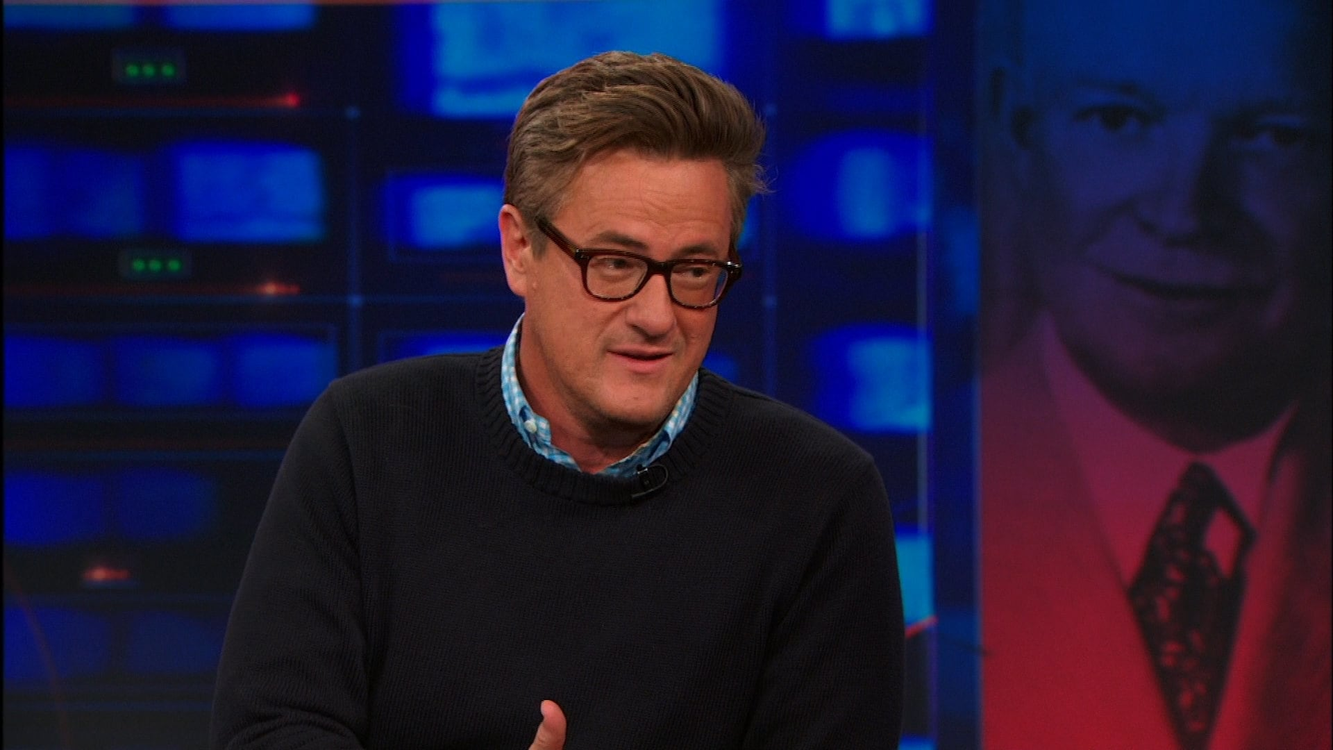 The Daily Show with Trevor Noah Season 19 :Episode 22  Joe Scarborough