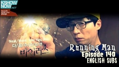 Running Man Season 1 :Episode 140  Find the Vaccine to Save the World