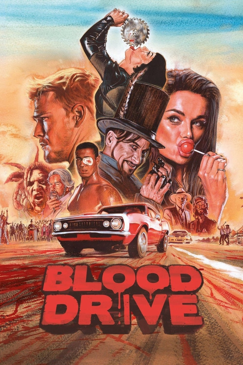 Blood Drive – Todas as Temporadas Dublado / Legendado (2017)