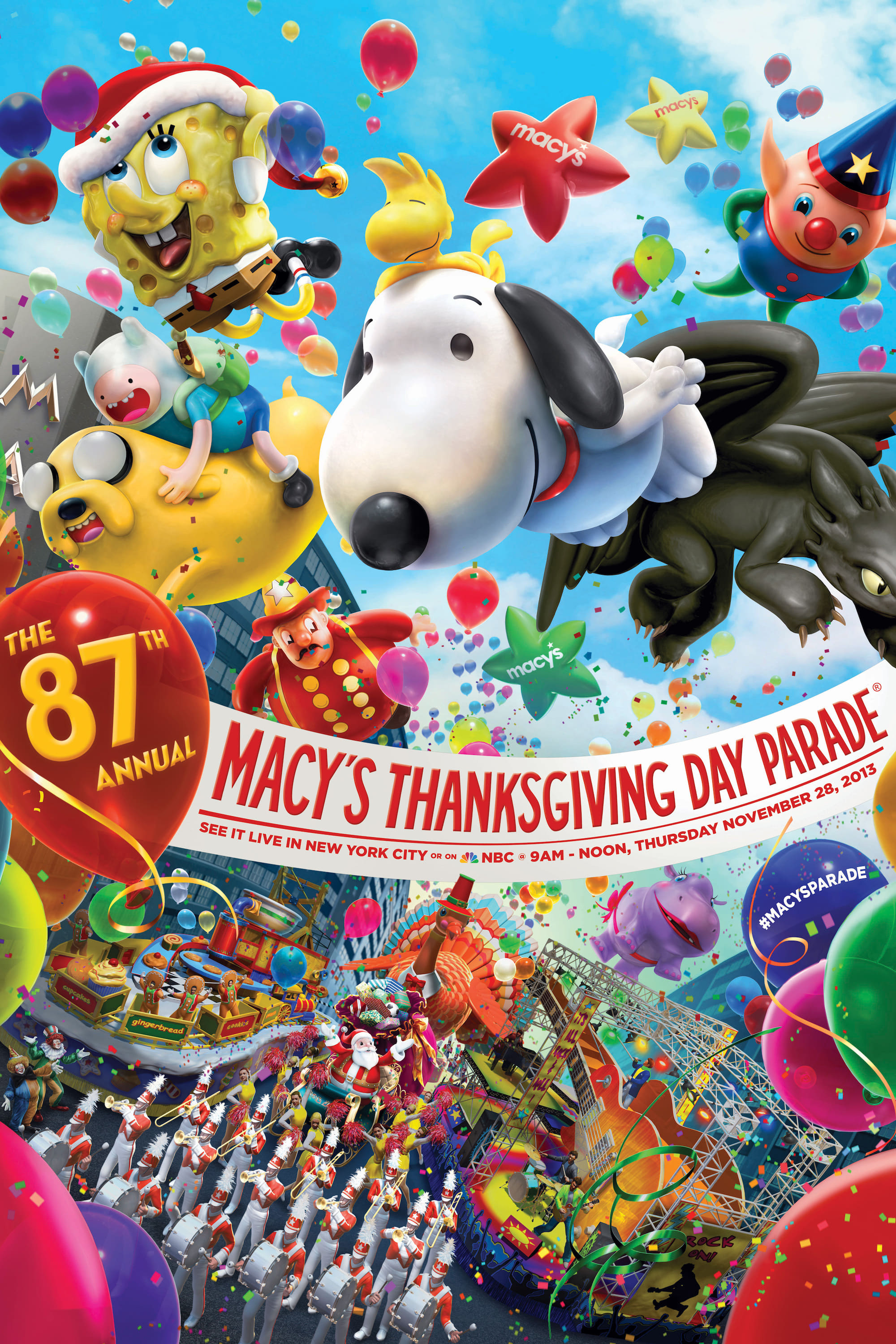 Ver 87th Annual Macy's Thanksgiving Day Parade Online HD Español (2013)