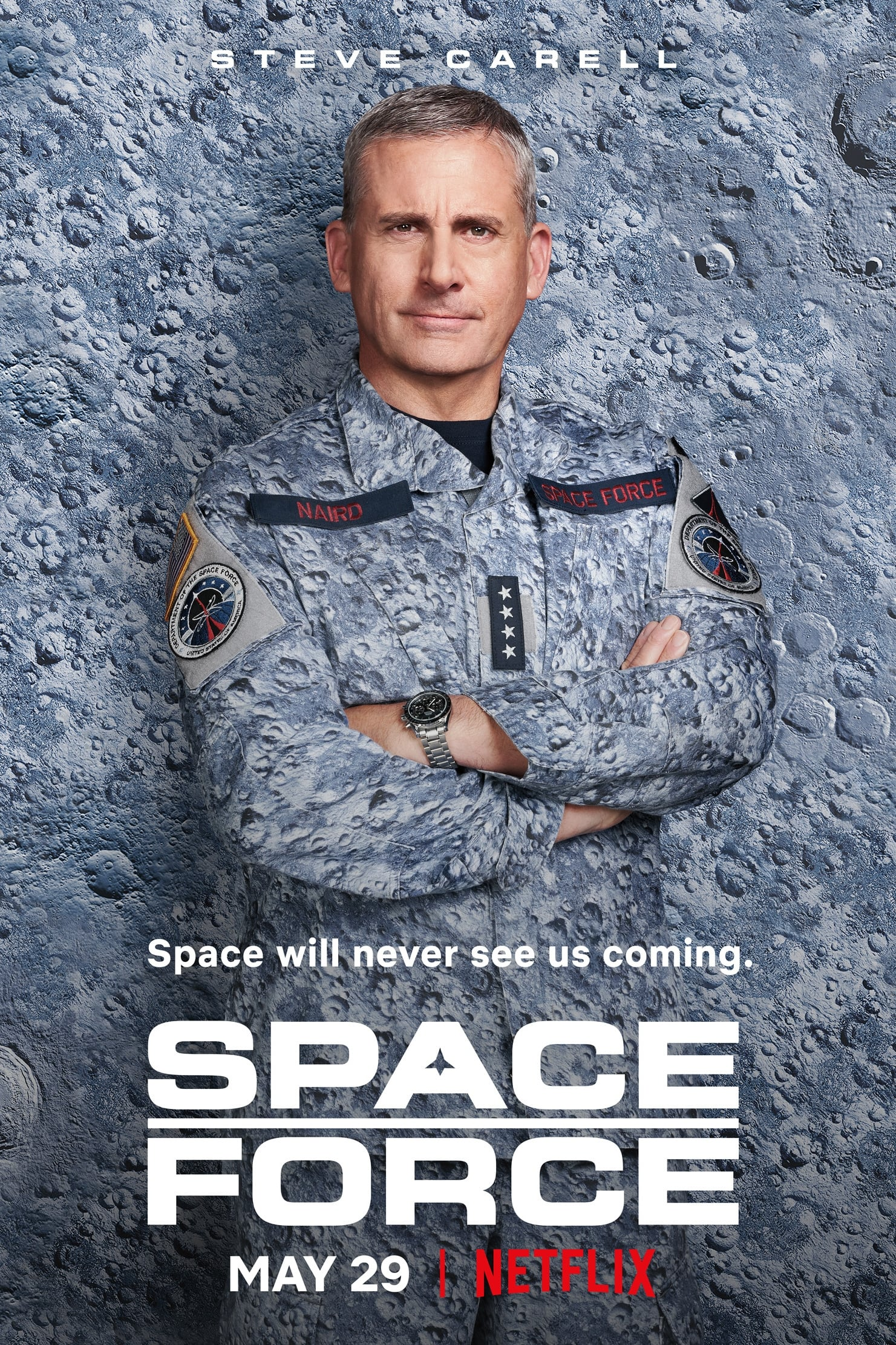 Space Force | 2020 | S01 | Hindi+English | 1080p | 720p | NF WEB-DL
