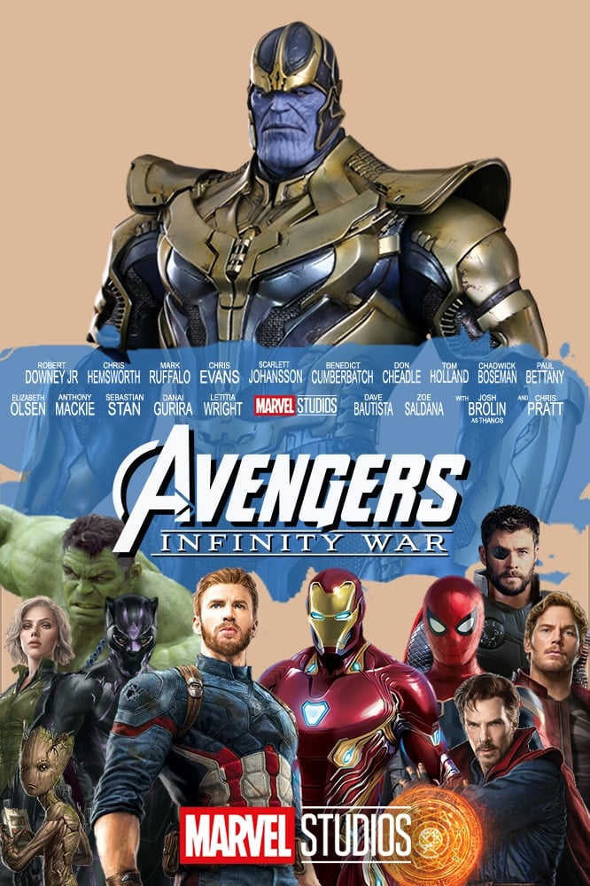 avengers  infinity war - 2018 movie - anthony russo