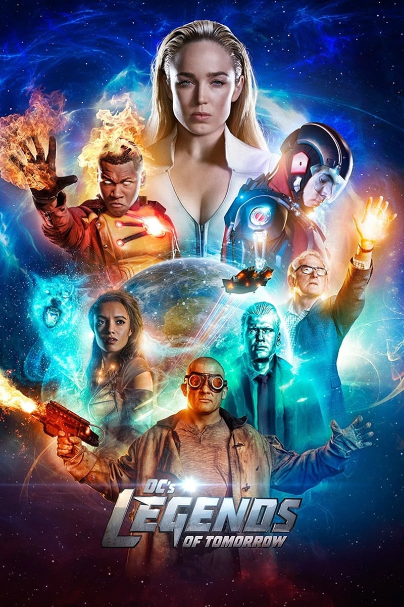 Legends of Tomorrow series tv complet