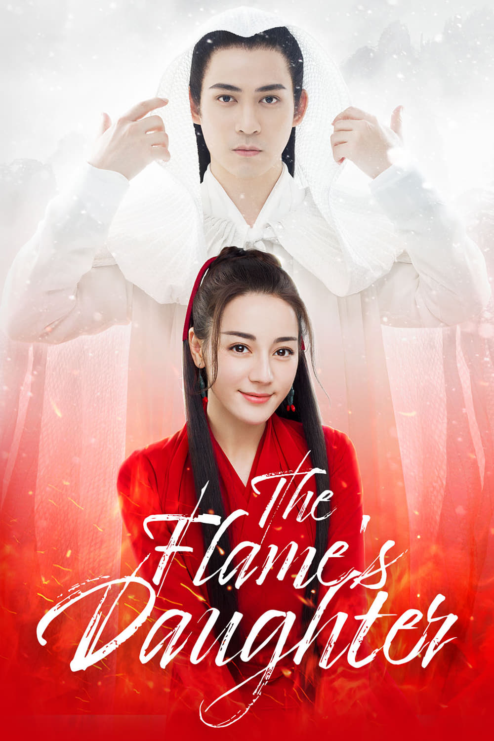 The Flame's Daughter Poster