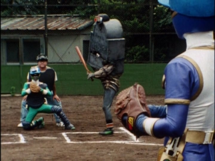 Super Sentai Season 17 :Episode 24  The 3 Stooges' Super Baseball!!