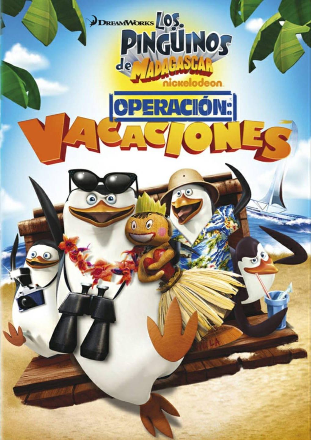 Póster Los Ping�inos de Madagascar: Operaci�n Vacaciones