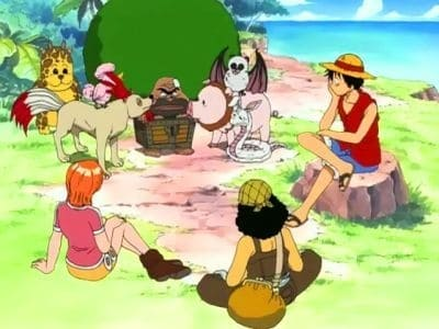 One Piece Season 1 :Episode 18  You're the Weird Creature! Gaimon and His Strange Friends!