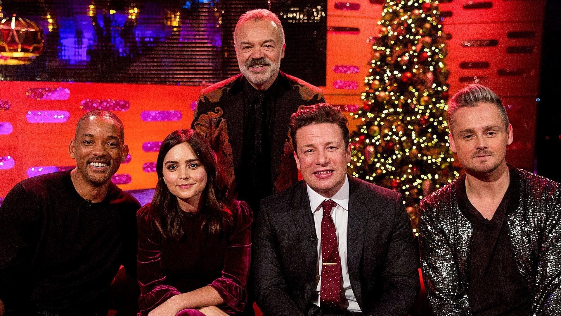 The Graham Norton Show Season 22 :Episode 12  Will Smith, Jenna Coleman, Jamie Oliver, Tom Chaplin