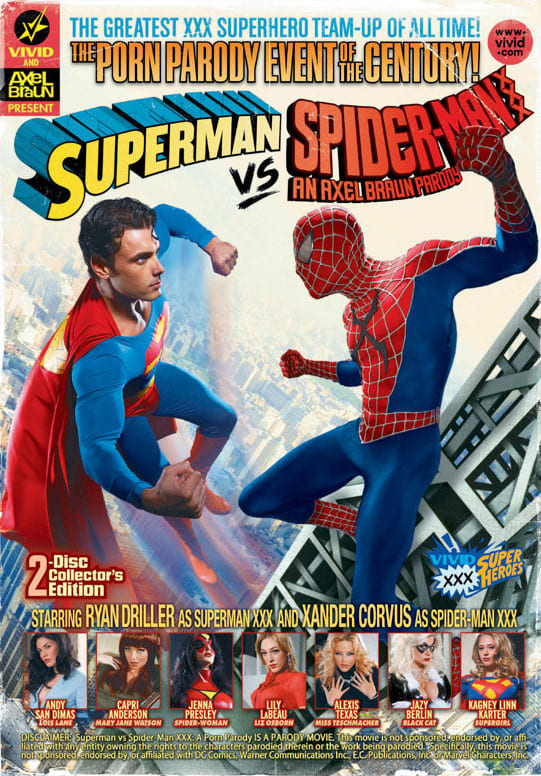 Ver Superman vs Spider-Man XXX: An Axel Braun Parody Online HD Español (2012)