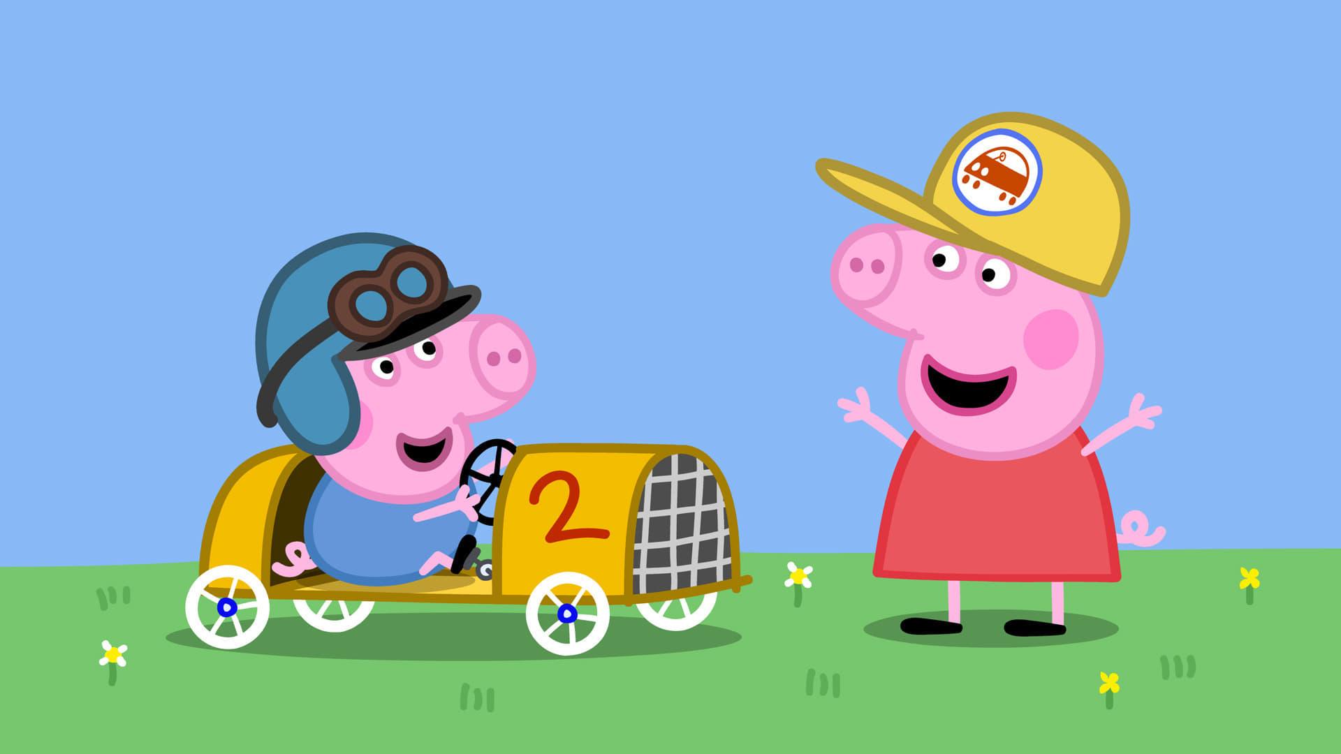 Peppa Pig Season 4 :Episode 32  George's Racing Car