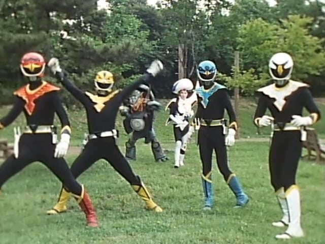 Super Sentai Season 15 :Episode 25  The Laughing Shadow-People