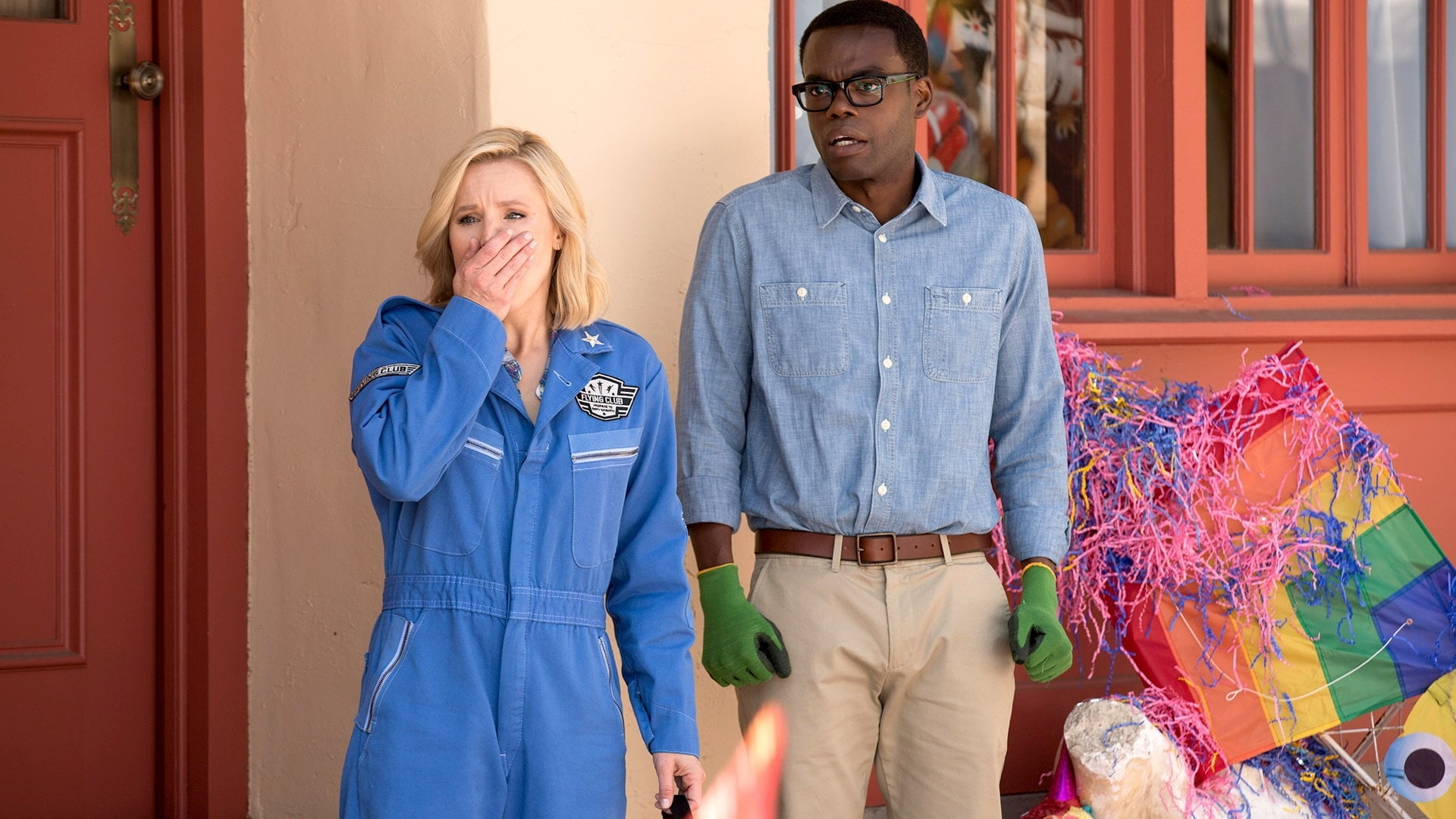 The Good Place - Season 1 Episode 2 : Flying