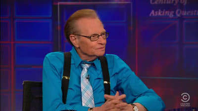 The Daily Show with Trevor Noah Season 16 :Episode 74  Larry King