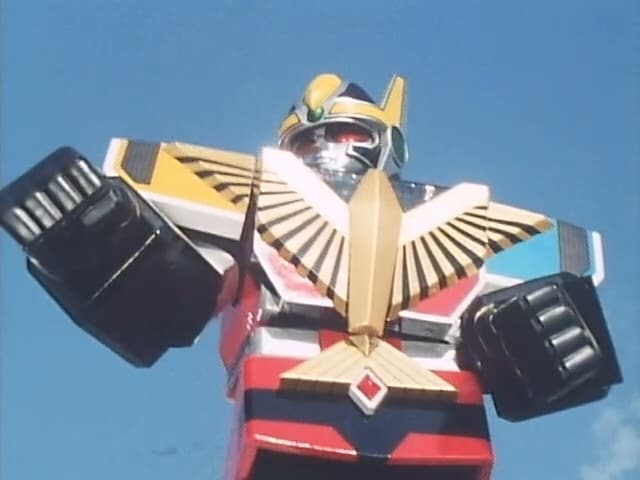 Super Sentai Season 15 :Episode 6  Get Angry, Robo!