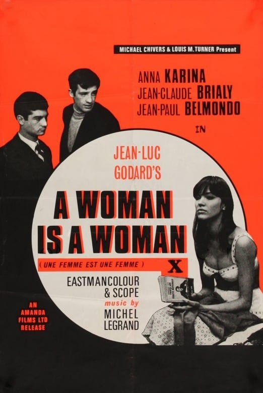 a woman is a woman 1961 the movie. Black Bedroom Furniture Sets. Home Design Ideas