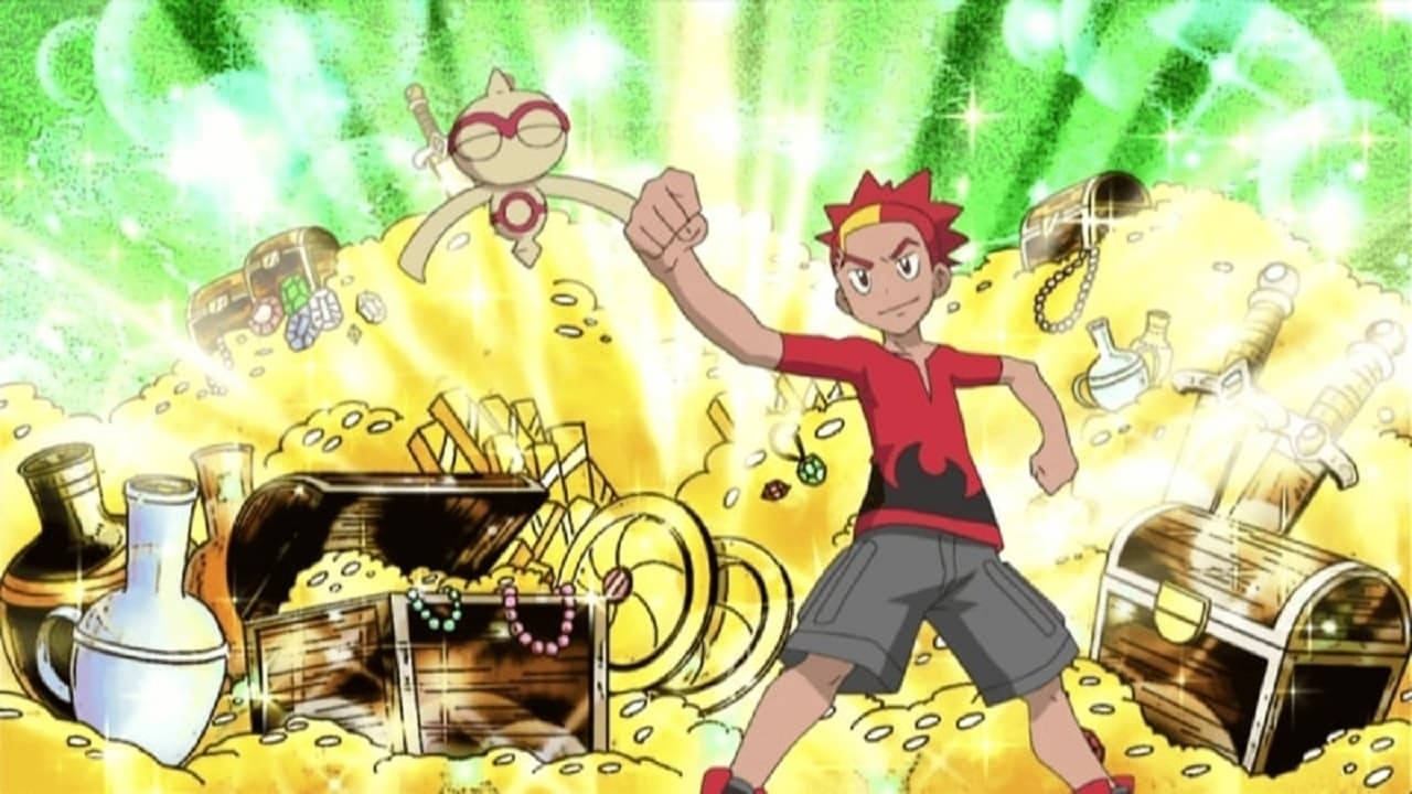 Pokémon - Season 13 Episode 24 : Bucking the Treasure Trend
