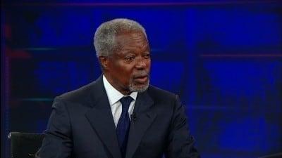 The Daily Show with Trevor Noah Season 17 :Episode 151  Kofi Annan