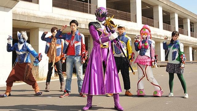 Super Sentai Season 41 :Episode 9  Burn Up, Dragon Mastar