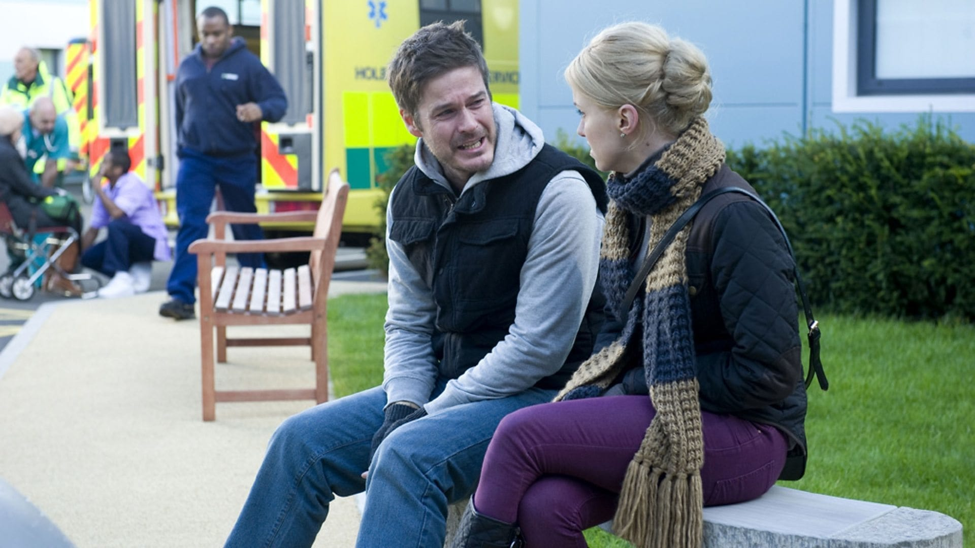 Casualty Season 27 :Episode 24  Though Lovers Be Lost