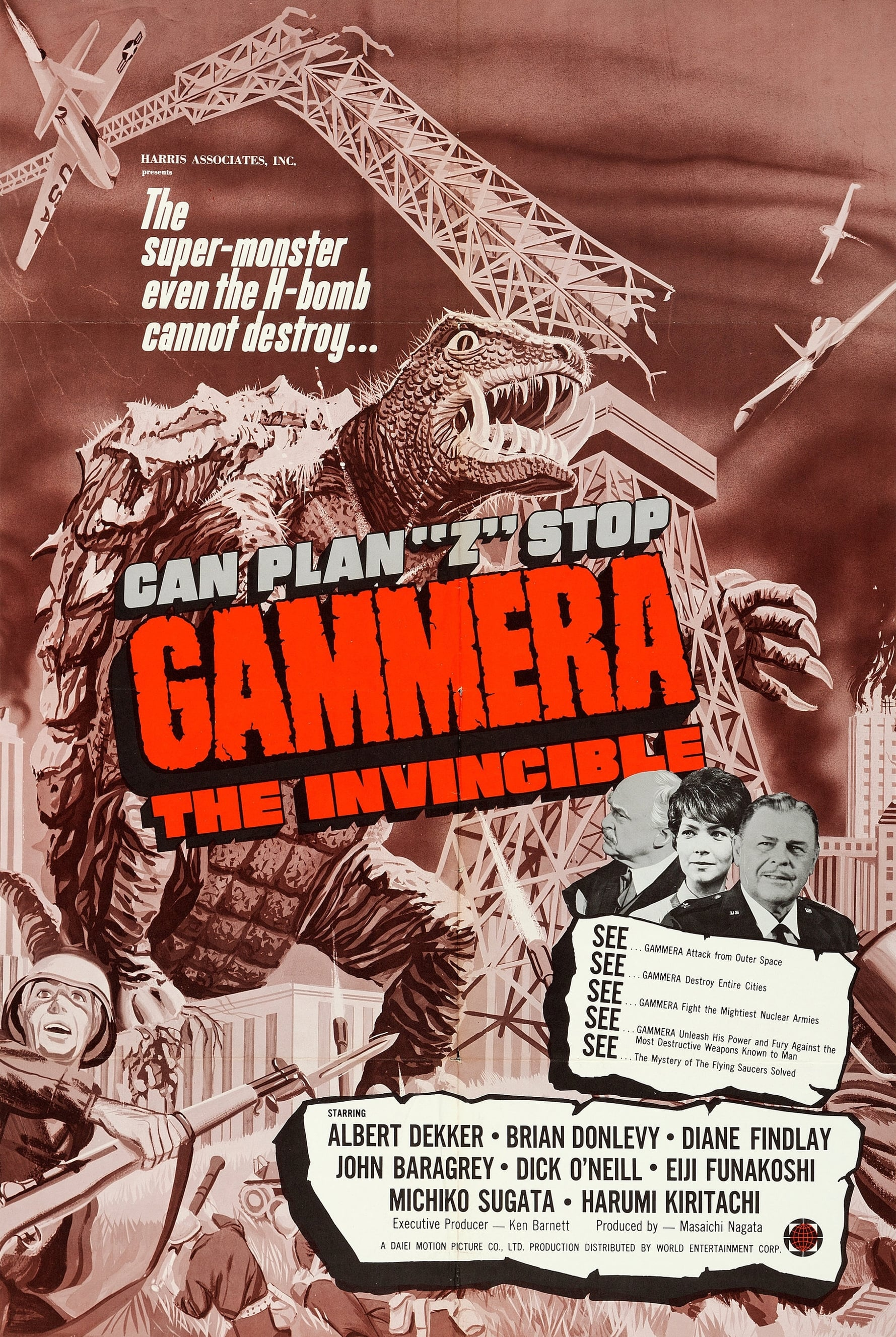Gammera the Invincible