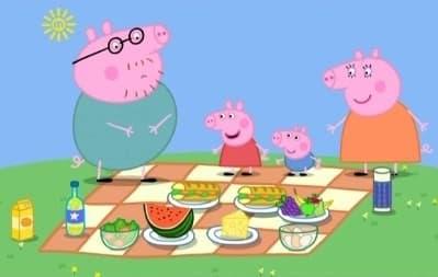 Peppa Pig Season 1 :Episode 15  Picnic