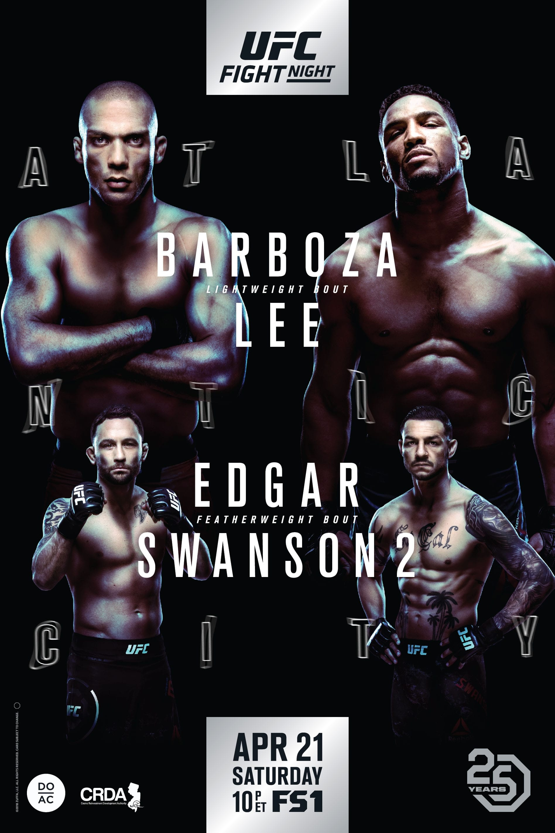 Ver UFC Fight Night 128: Barboza vs. Lee Online HD Español ()