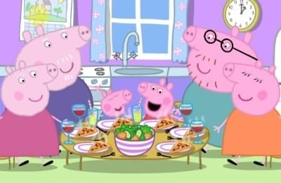 Peppa Pig Season 1 :Episode 34  Lunch