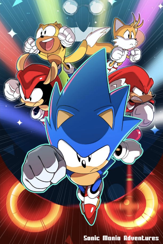 Sonic Mania Adventures (2018)