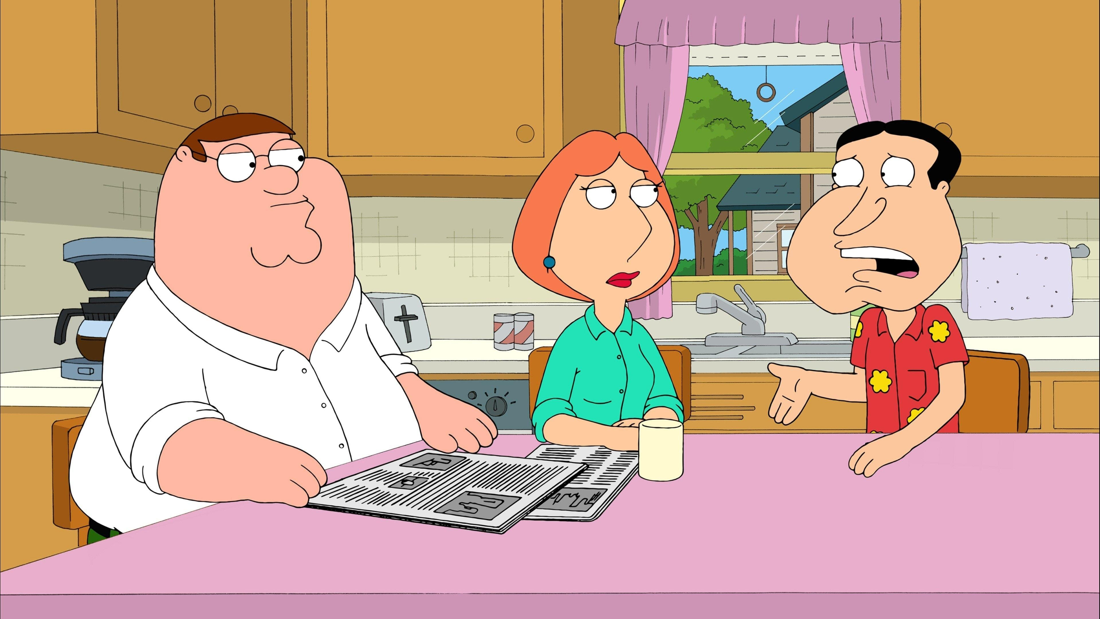 Family Guy Season 8 :Episode 18  Quagmire's Dad