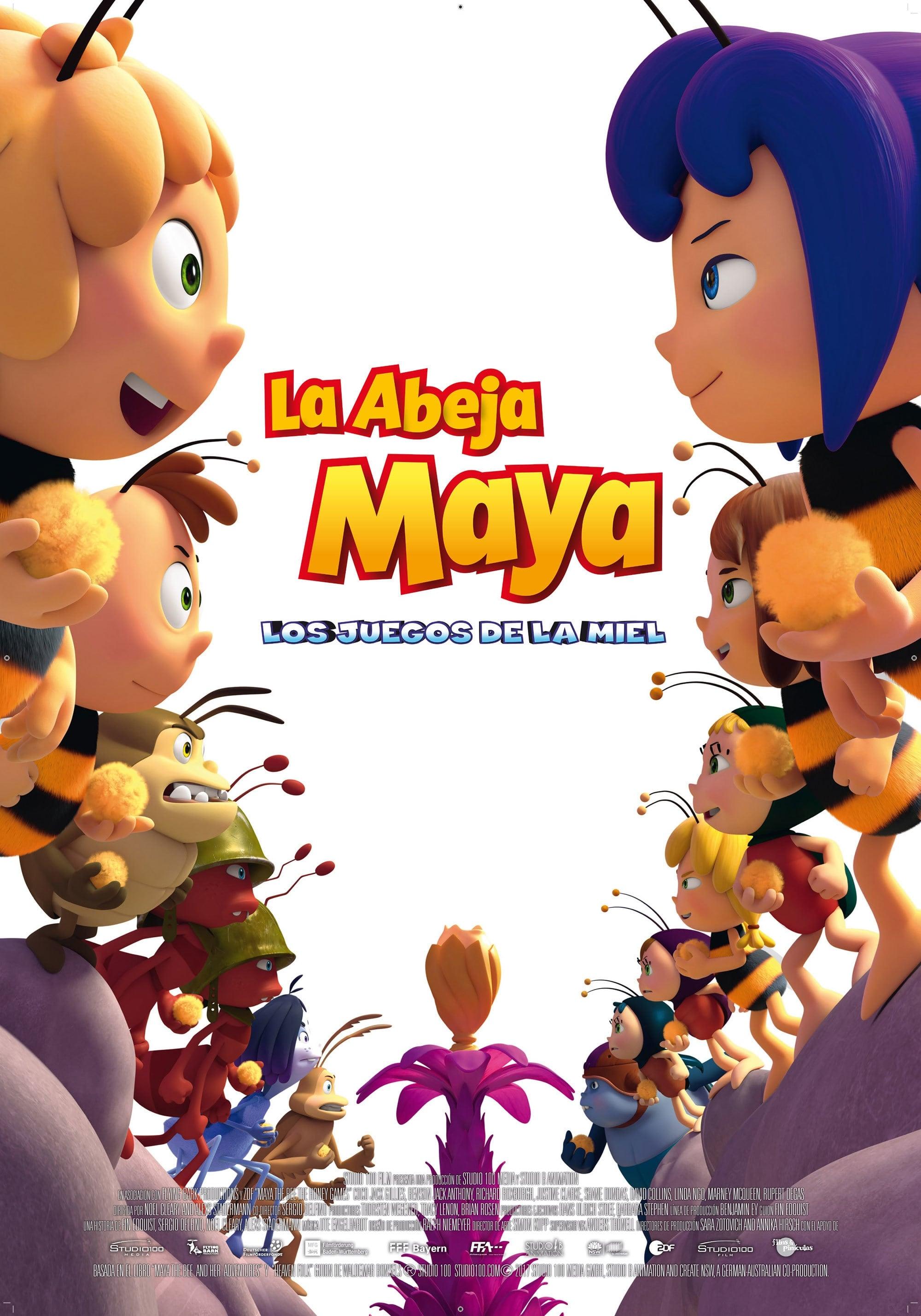 Póster La abeja Maya: Los juegos de la miel