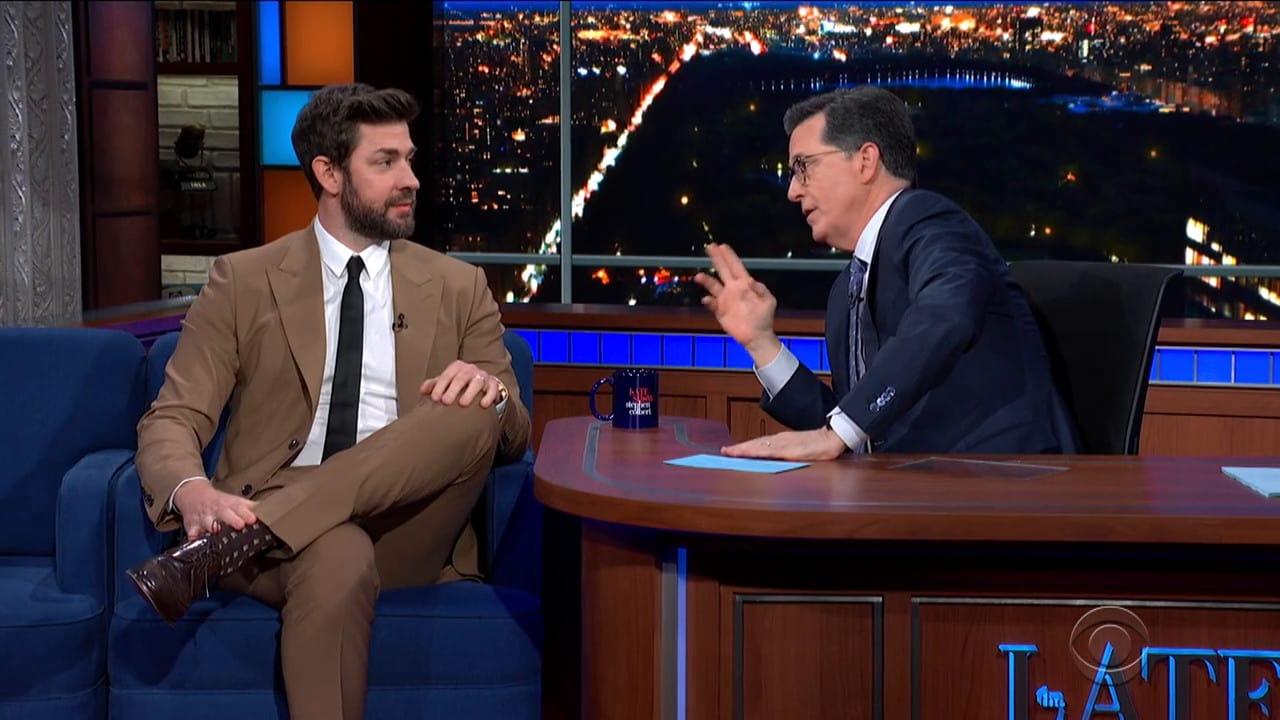 The Late Show with Stephen Colbert Season 5 :Episode 101  John Krasinski / Rachael & Vilray