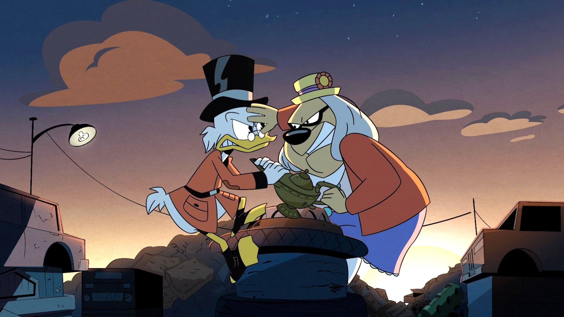 DuckTales Season 2 :Episode 8  Treasure of the Found Lamp!