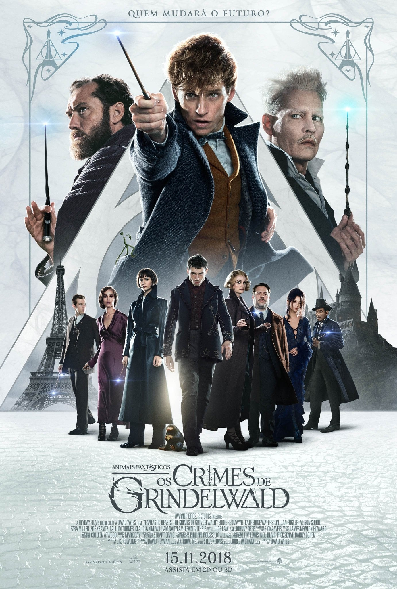 Animais Fantásticos 2: Os Crimes de Grindelwald Dublado