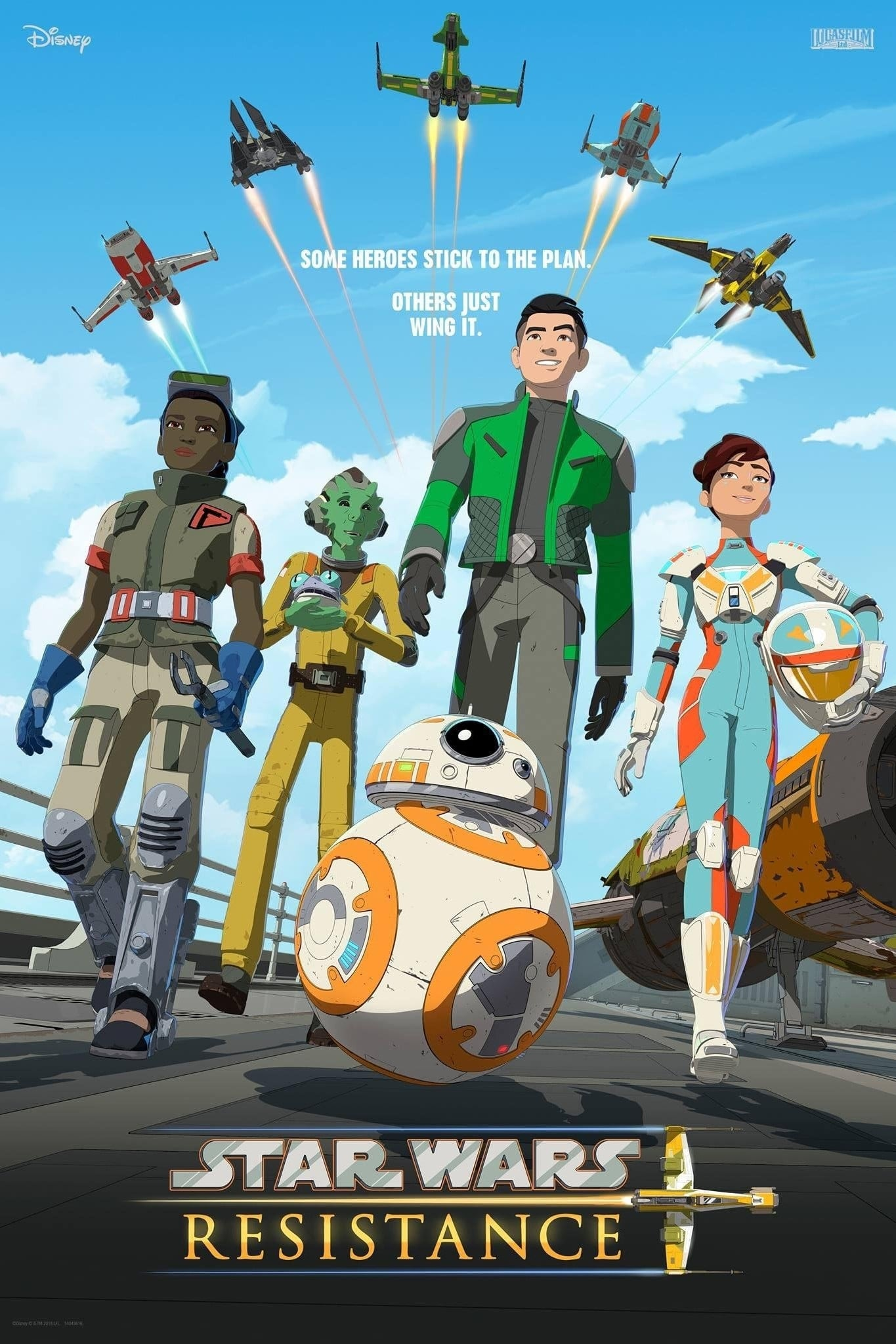 Star Wars Resistance – Todas as Temporadas Dublado / Legendado (2018)