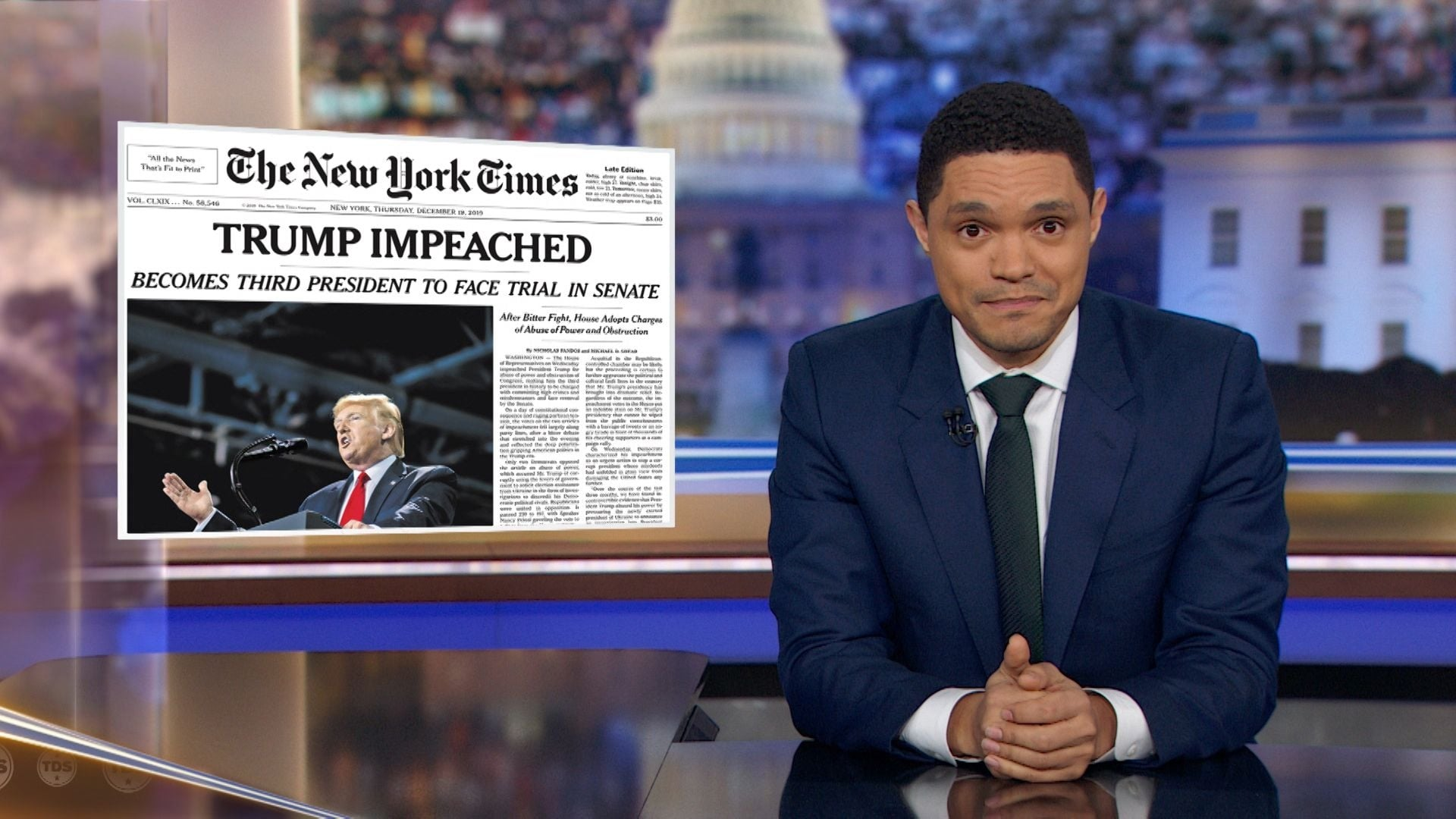 The Daily Show with Trevor Noah Season 25 :Episode 40  December Democratic Debate Special