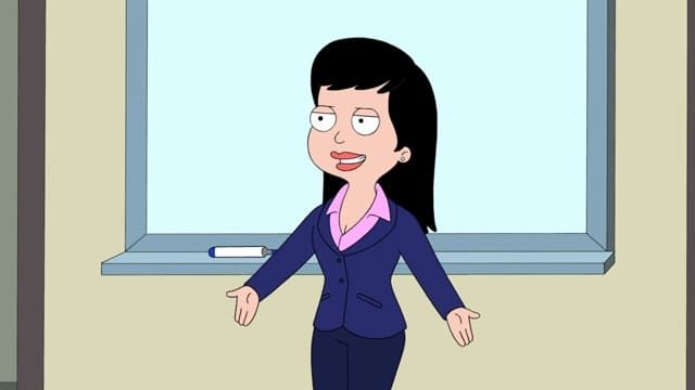American Dad! Season 17 :Episode 19  Businessly Brunette