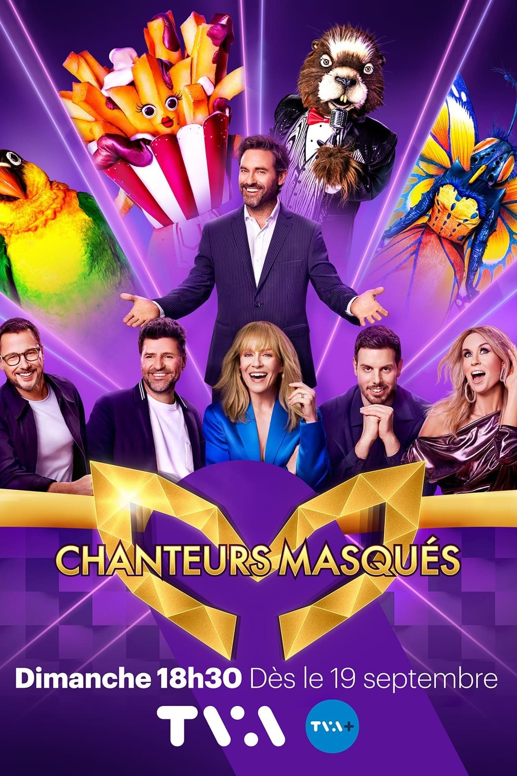 Chanteurs masqués TV Shows About Hidden Identity