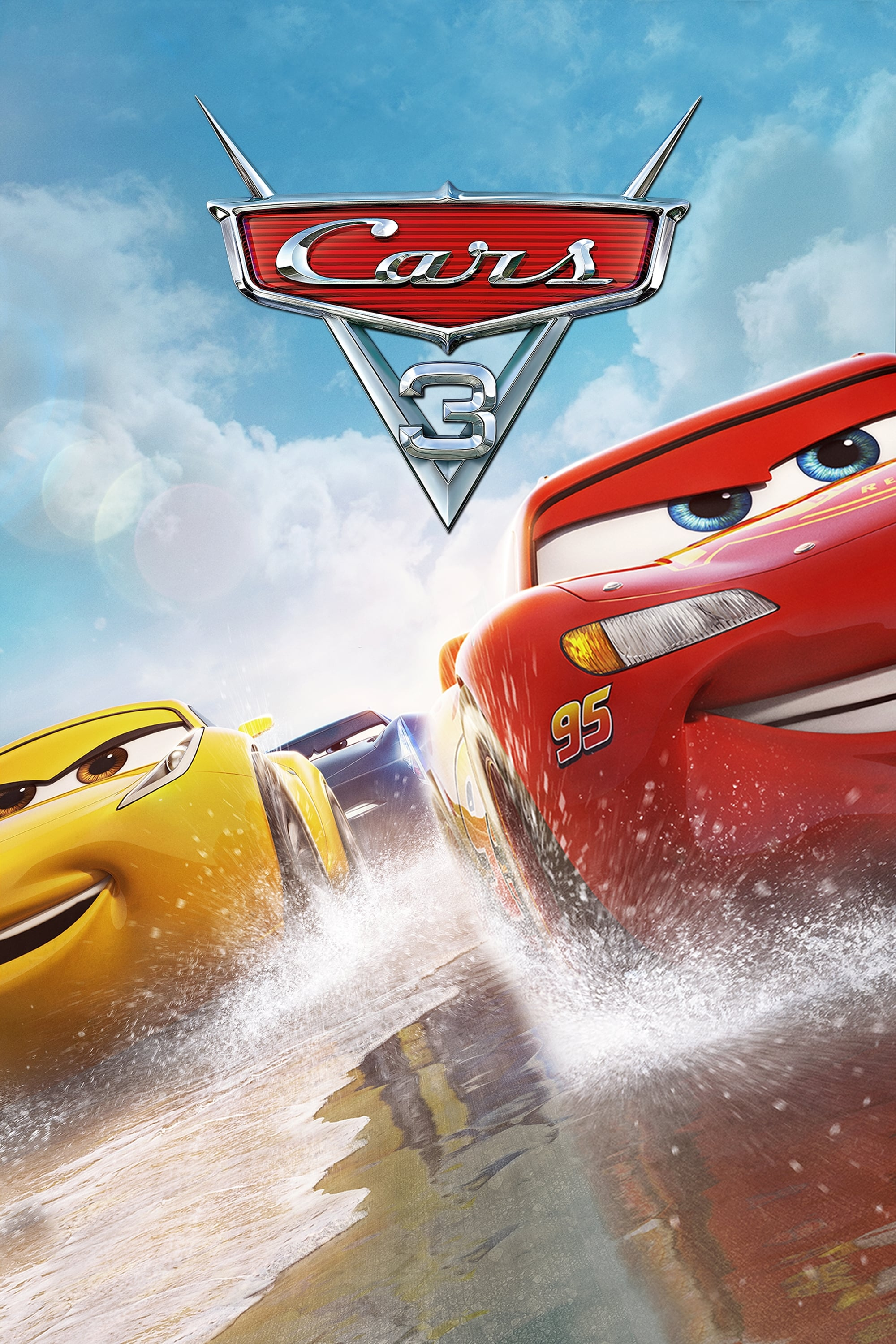 cars 3 2017 posters the movie database tmdb. Black Bedroom Furniture Sets. Home Design Ideas